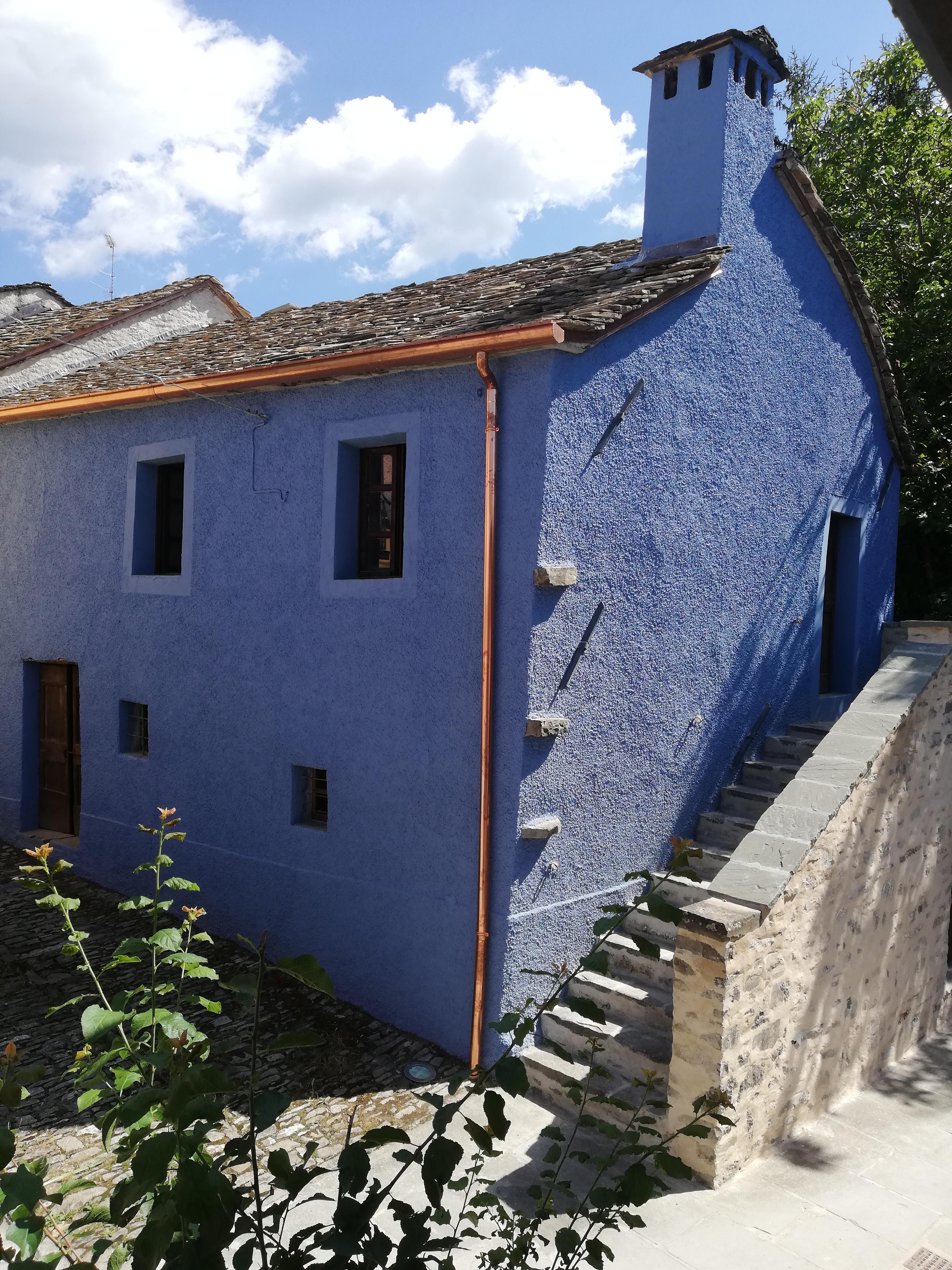 La Casa di Augusto: vista frontale