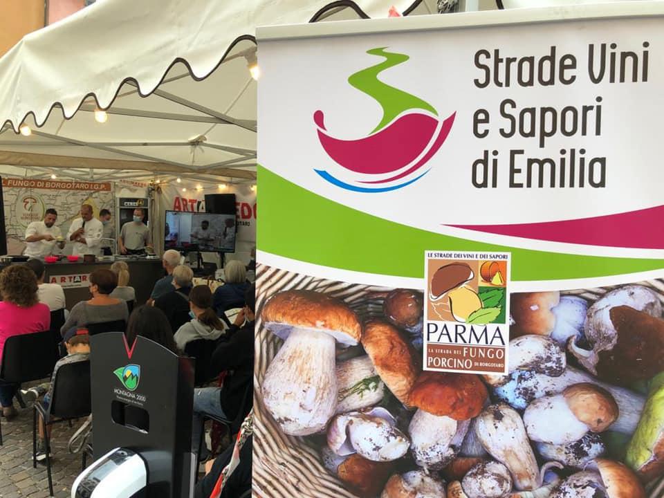 Un intenso weekend sulla Strada del Fungo Porcino di Borgotaro tra degustazioni e show-cooking